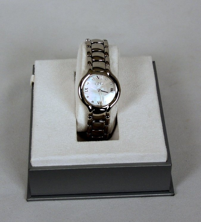 Ladies Ebel Beluga Grande Dame XL Wristwatch GB9 - 5