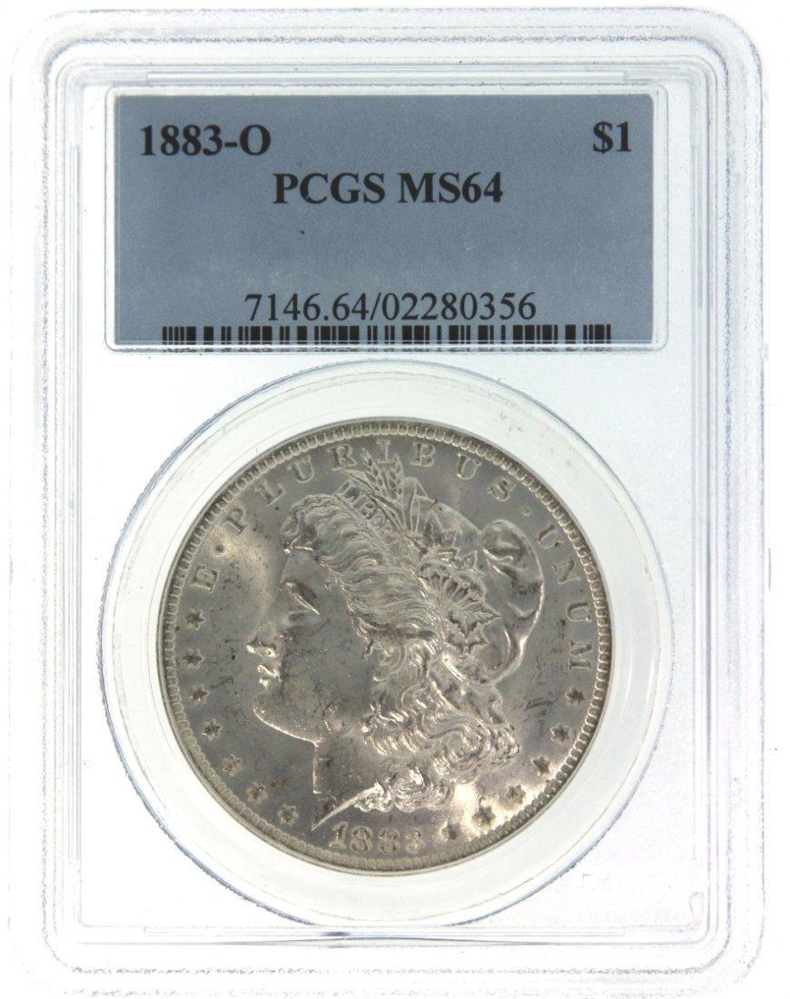 1883-O $1 PCGS MS64 Silver Coin DAVEF865