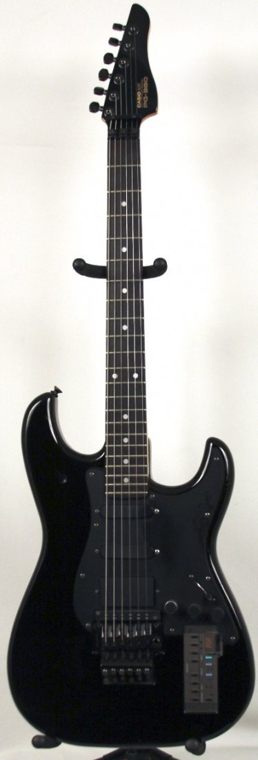 Ibanez Vintage Casio PG-380 Synth Electric Guitar in Bl