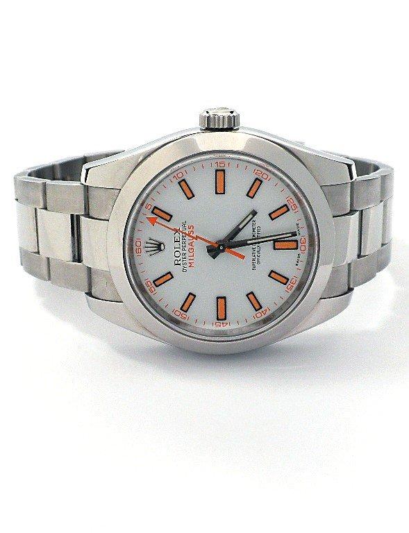 Gents Rolex Stainless Steel Milgauss Wristwatch BD349