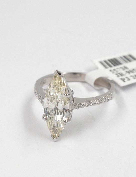 14KT White Gold 1.78tcw Diamond Ring A3926