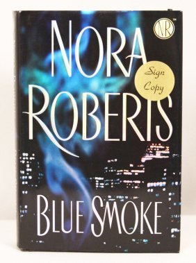 "Autographed Copy Of ""Blue Smoke"" BK160"