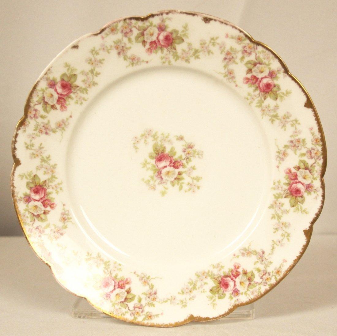 Antique Limoges Dinner Plate ED1246