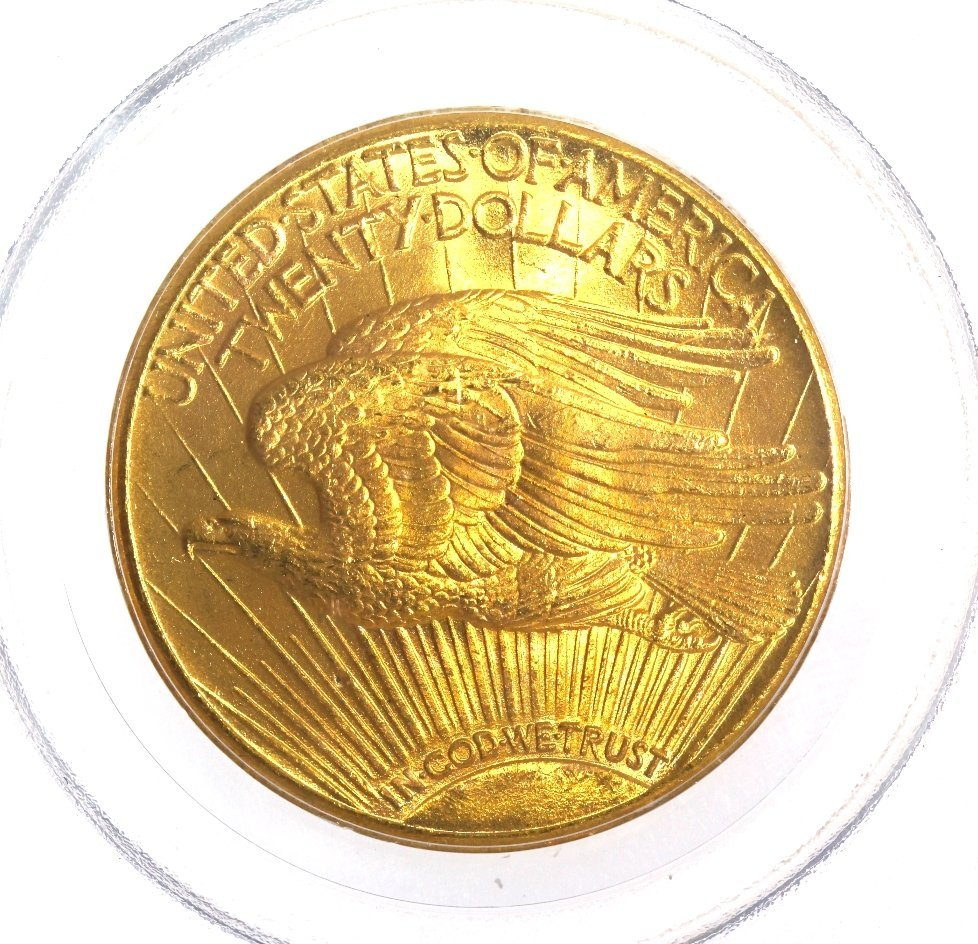 1927 $20 PCGS MS65 Saint Gaudens Double Eagle Gold Coin - 4