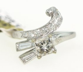 18KT White Gold 1.15ct Diamond Ring RM325