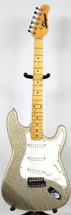 Stargazer Stratocaster In Silver Sparkle DGUI57