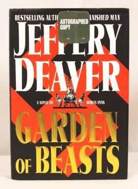 "Autographed Copy Of ""Garden Of Beasts"" BK170"