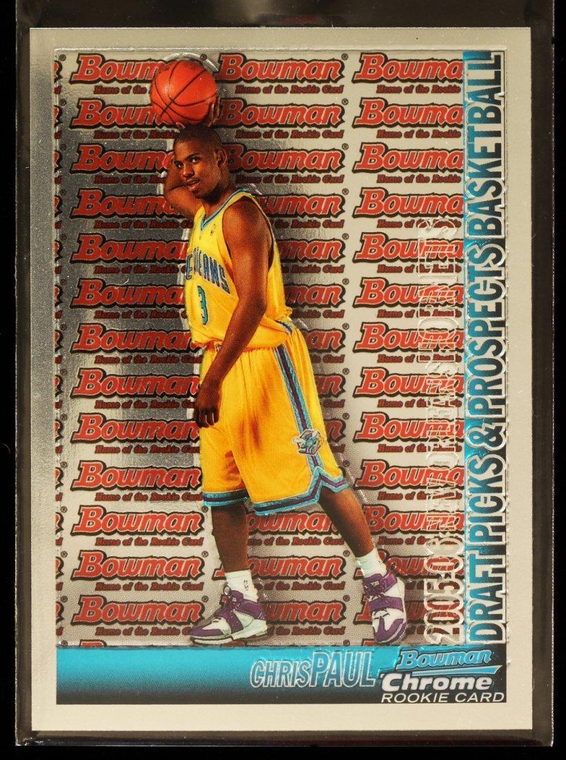 2005 Bowman Chrome Chris Paul Rookie Card C291