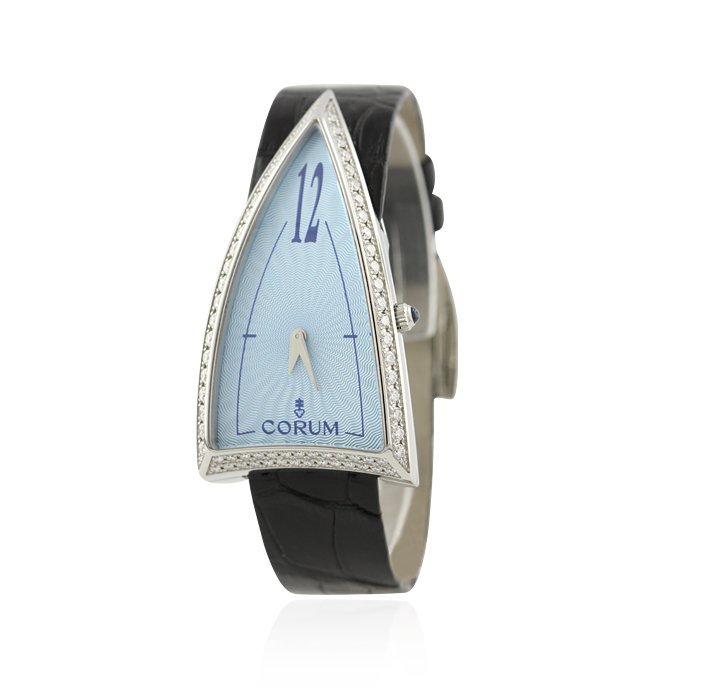 Ladies Corum Rocket Stainless Steel with Diamonds Watch