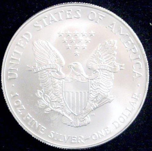 2012 American Silver Eagle Dollar GEM BU Coin MNTCN5 - 2