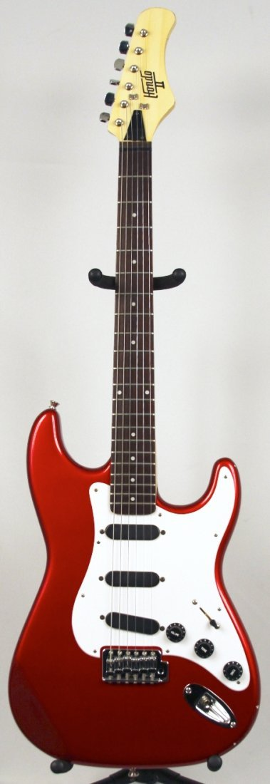 Hondo & Hondo II Stratocaster Classic in Candy Red DGUI