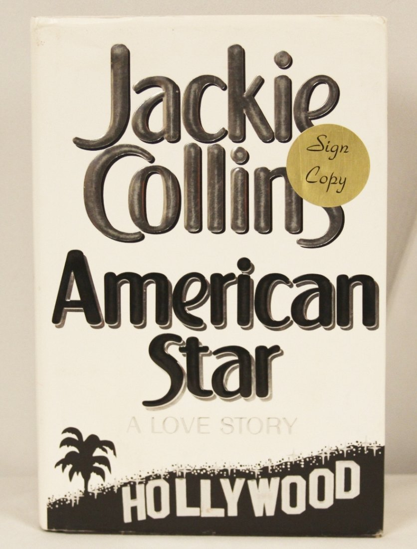 """Autographed Copy of """"American Star"""" BK124"""