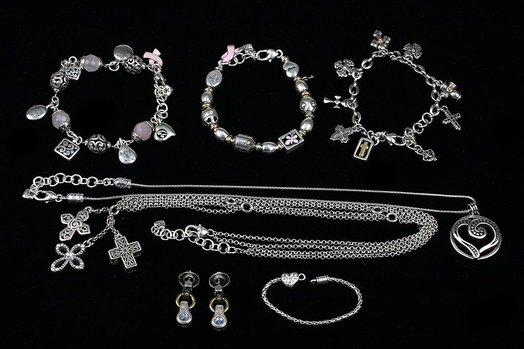 Lot of 7 Vintage Brighton Jewelry ED1370