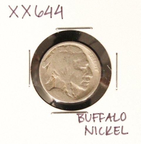 Buffalo Nickel XX644