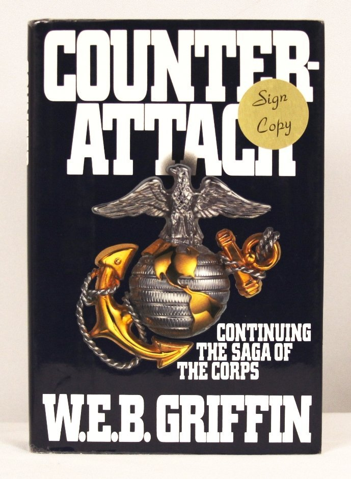 """Autographed Copy of """"Counter-Attack"""" BK193"""