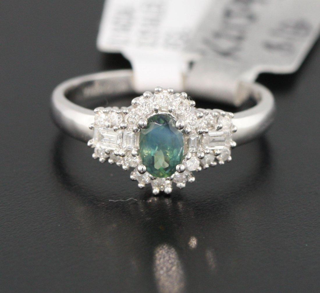 14KT White Gold 0.65ctw Diamond Ring EGL Certified RM57
