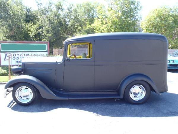 1936 Chevrolet Hot Rod Panel Truck - 2