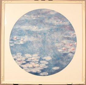 Vintage Claude Monet Poster Framed NS163