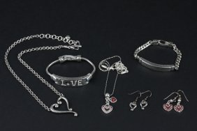Lot of 6 Vintage Brighton Jewelry ED1372
