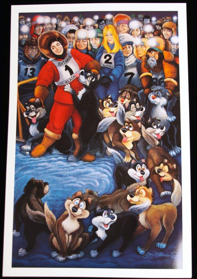 Alaska by G.R. Cassarino Walt Disney Artist AP549