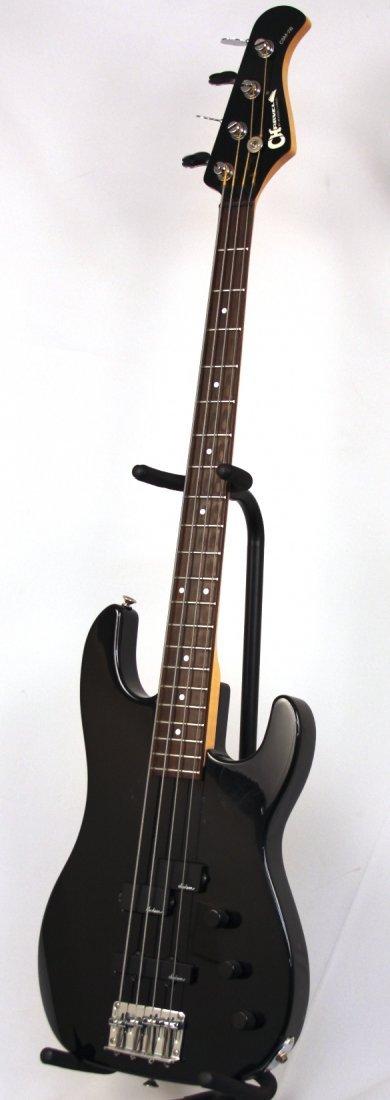 Charvel CSM-2B Black 4 String Used Bass Guitar DGUI29