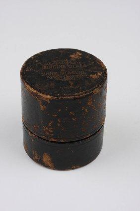 Antique Traveling Doctor's Glass Medicine Cups in Origi