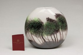 """New Robert Held """"Scapes"""" Collection Hand Blown Art Glas"""