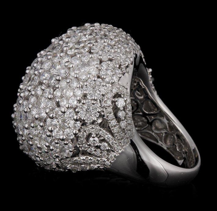 14KT White Gold 11.67ctw Diamond Ring FJM2395 - 2