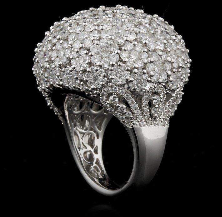 14KT White Gold 11.67ctw Diamond Ring FJM2395 - 3