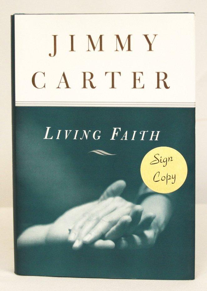 """Autographed Copy of """"Living Faith"""" BK79"""