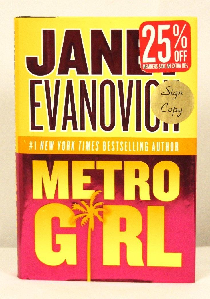 "Autographed Copy of ""Metro Girl"" BK150"