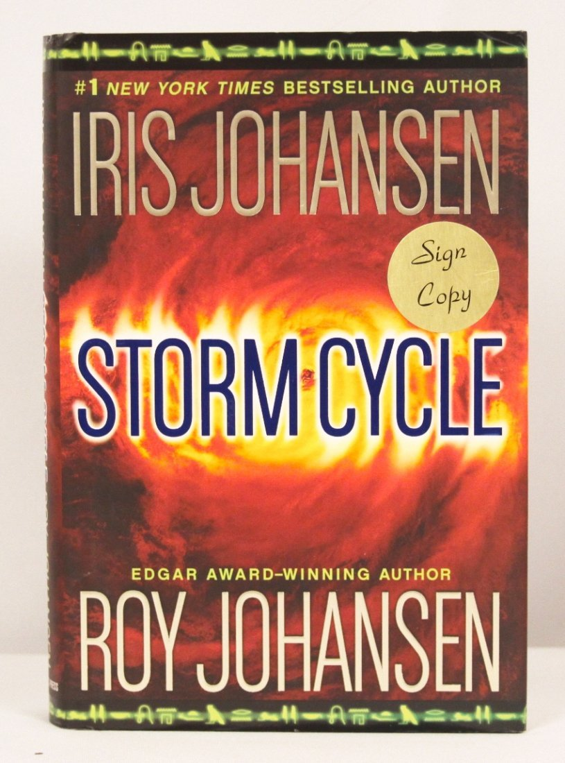 """Autographed Copy of """"Storm Cycle"""" BK182"""