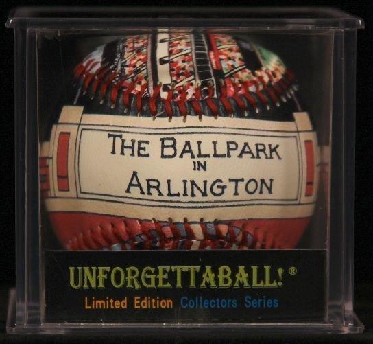 "Unforgettaball! ""Ball Park in Arlington"" Collectable Ba"
