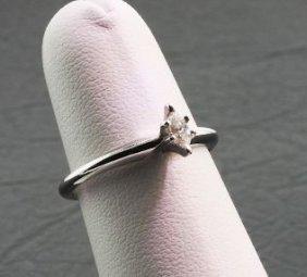 Ladies Gold & Diamond Ring .12cts DO9