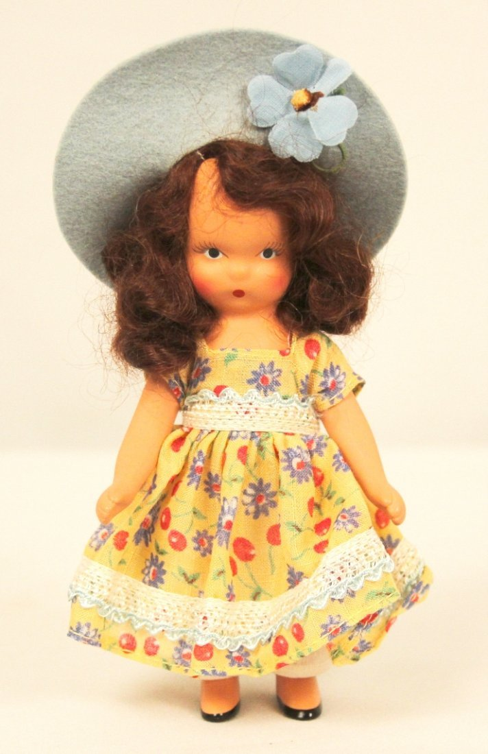 """Nancy Ann Storybook Doll """"A Dillar A Dollar"""" #112 ED118"""