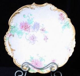 Antique Limoges Handpainted Platter ED426