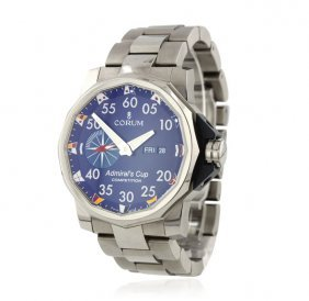 Gents Corum Admiral's Cup Competition 48 Titanium Watch