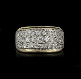 14KT Yellow Gold 1.25ctw Diamond Ring GB1103
