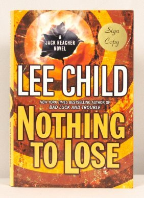 """Autographed Copy Of """"Nothing To Lose"""" BK175"""