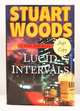 "Autographed Copy of ""Lucid Intervals"" BK171"