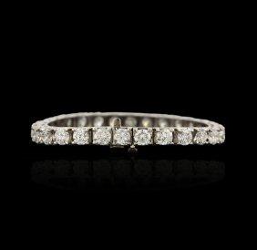 14KT White Gold 20.91ctw Diamond Tennis Bracelet A4614
