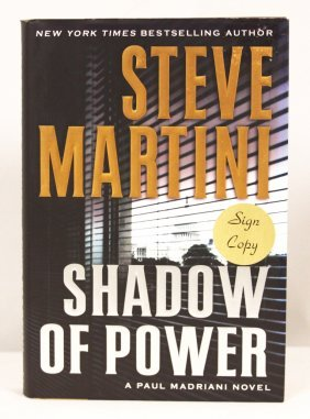 """Autographed Copy of """"Shadow of Power"""" BK164"""