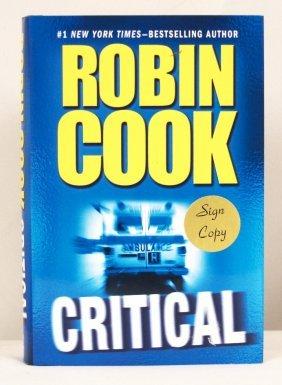 """Autographed Copy of """"Critical"""" BK194"""