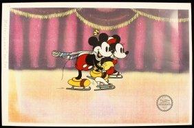 """Walt Disney """"On Ice"""" Ltd Ed Serigraph Cel DisneySeri361"""