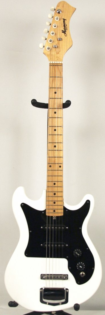 Harmony 60's Type Reissue Electric Guitar in White DGUI