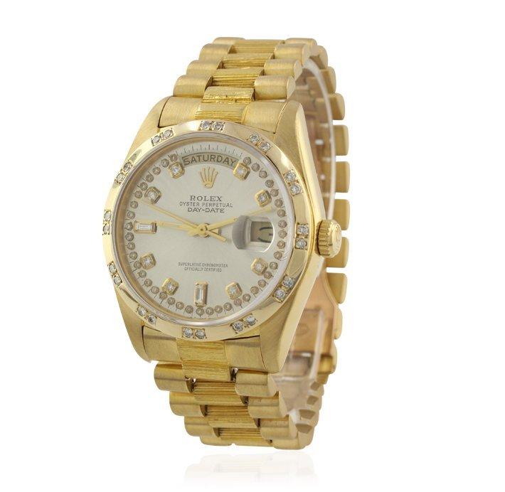 Gents Rolex 18KT Yellow Gold DayDate Wristwatch A4742