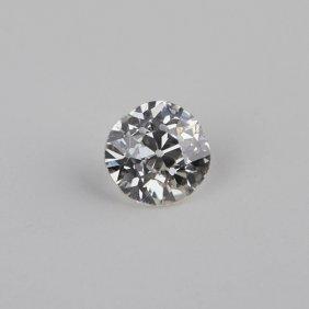 GIA Certified 0.56ct SI2/J Round Cut Loose Diamond GB82