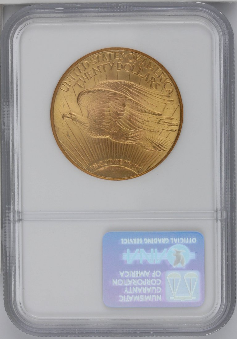 1927 $20 NGC MS65 St. Gaudens Double Eagle Gold Coin GO - 2