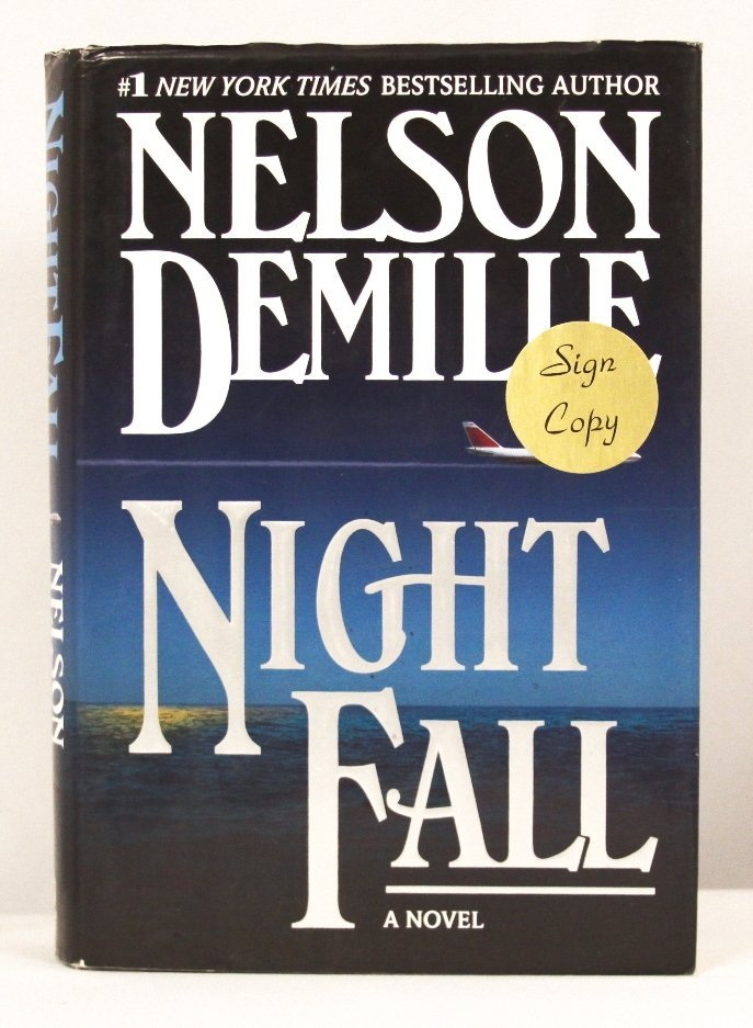 """Autographed Copy of """"Night Fall"""" BK200"""