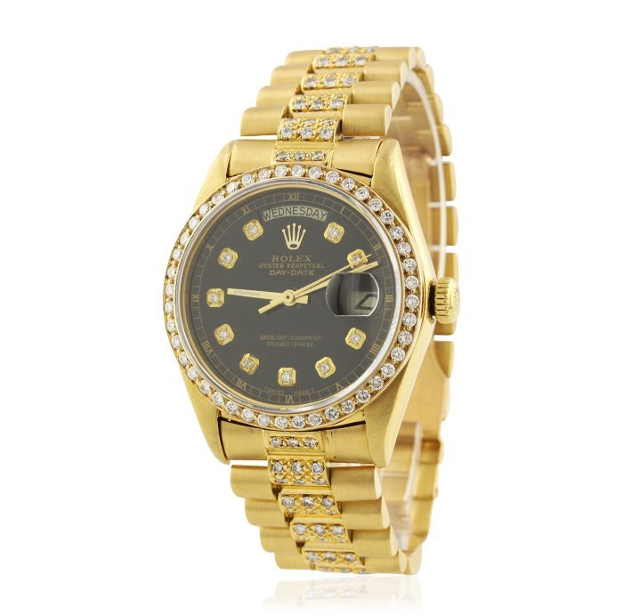 Rolex 18KT Yellow Gold Super President Style DayDate Wr